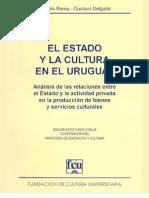 Libro - El Estado y la cultura en el Uruguay - Claudio Rama