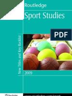 Sports Studies 2009 Uk