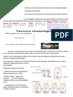 Histología 1 INTRODUCCION