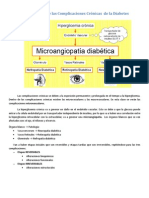 Fisiopatologia Complicaciones cronicas DM