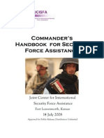 Commander's Handbook for Security Force Assisstance (2008)