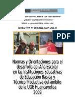Directiva Uge 2009