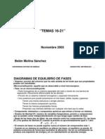 Materiales. Diagramas de Equilibrio