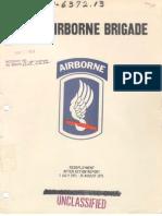 173d Airborne AAR 14 September 1971