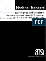 Ansi RF Exposure Limits