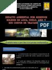 Impacto de Residuos Solidos en Aire, Suelo, Agua y Costos
