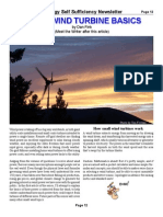Small Wind Turbine Basics