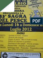 Locandina Sagra Della Panzanella e Del Maiale