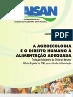 Cartilha Agroecologia e Direito Ao Alimento LIVRO_SISAN2_web