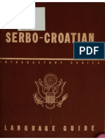 TM 30-346 Serbo-Croatian Language Guide 1943