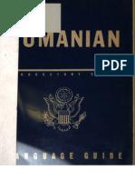 TM 30-349 Romanian Language Guide 1943