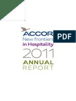 ACCOR Annual Report 2011