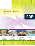 Kamat Hotel India Annual Report 2011