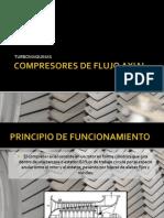 Compresores de Flujo Axial