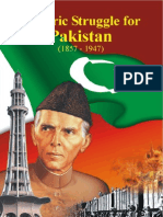 Historic Struggle for Pakistan 1857-1947