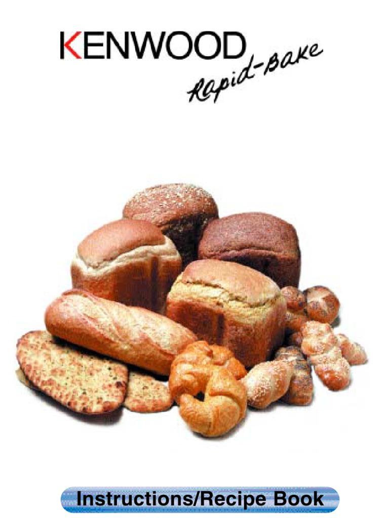 Kenwood rapid bake booklet breads flour forumfinder Choice Image