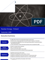 Market Research Finland - Nuclear Energy Market in Finland 2009