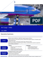 Market Research India - Air Cargo Market in India 2009
