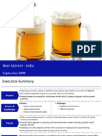 Market Research India - Beer Market in India 2009