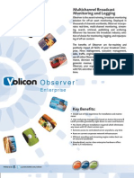 Volicon Observer Enterprise Brochure