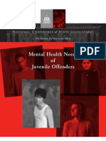 Mental Health Needs of Juvenile Offenders
