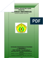 Program Praktik Bahasa Indonesia