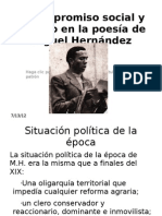 El compromiso social y político en la poesía
