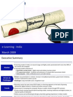 Market Research India - E-Learning Market in India 2009
