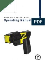 Taser m26c Manual