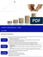 Market Research India - Guide to Microfinance in India 2009