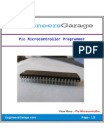 Pic Microcontroller Programmer
