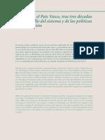 Retos Para El Pais Vasco, Tras Tres Decadas de Desarrollo Del Sistema y de Las Politicas de Innovacion