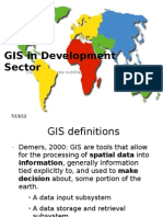 GIS in Development Sector