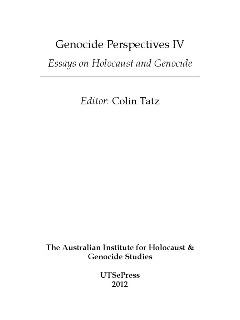 persuasive research paper holocaust Holocaust essay the holocaust was the systematic, state-organized persecution and murder of nearly 6 million jews by nazi germany, its allies, and collaborators they destroyed two thirds of europe's jews and one third of the world's jewish population.