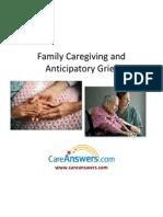 Family Caregiving and Anticipatory Grief