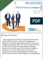 SBOUC2010 Marks 0207 KPI for Business Intelligence