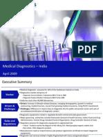Market Research India - Medical Diagnostics Market in India 2009