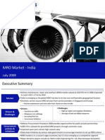 Market Research India - MRO Market in India 2009