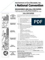 PICE- Call for Papers