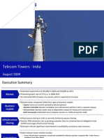 Market Research India - Telecom Towers Market in India 2009