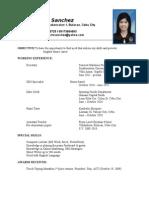 Resume - Call Center