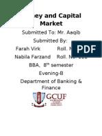 Money and Capital Market