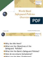 1.1World Bank Safeguard Policies Overviews