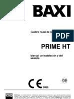 Manual Baxi Prime HT Espanol