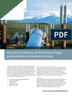 deteccion fugas en tuberias oil and gas en español