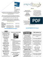 Roundshaw News Sheet 15th July 2012
