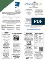 Wallington News Sheet 15th July 2012
