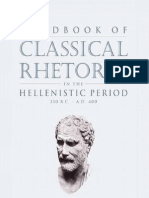 Handbook of Classical Rhetoric in the Hellenistic Period 330 B C a D 400