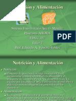 2) Nutrición y alimentación