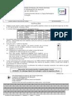 Prova de Conhecimentos Gerais - 2012-2